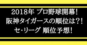 阪神タイガース2018アイキャッチ