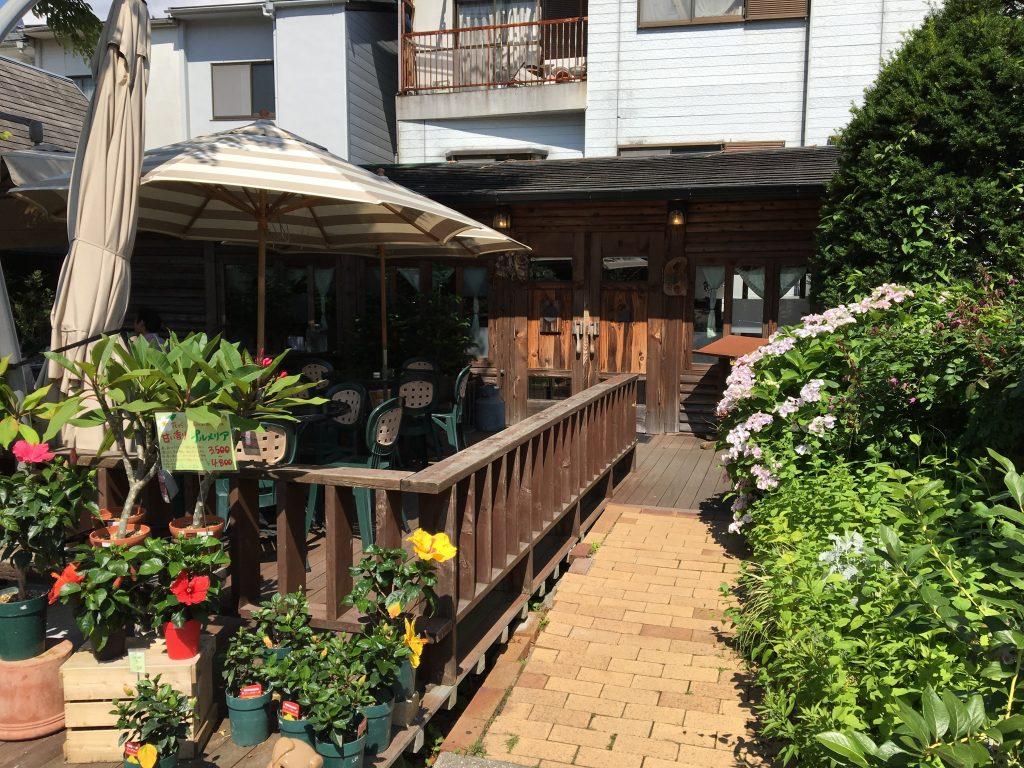 松尾園芸 ログハウス