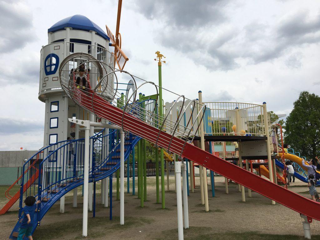 京都競馬場 公園 遊具